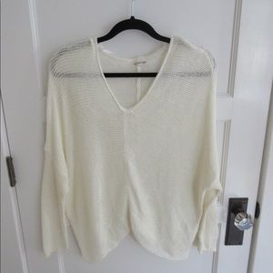 Ivory Loose Knit Sweater
